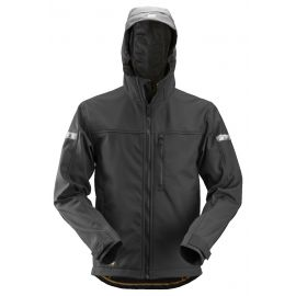 Snickers Soft Shell Jack met Capuchon 1229