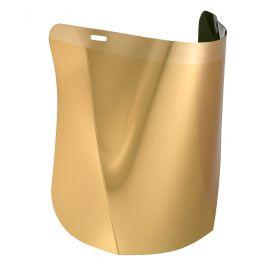 Hellberg Safe polycarbonaat verguld vizier