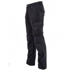 Bram Paris werkbroek, met kniebescherming model Sander E53, zwart