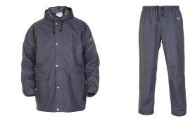 Regenkleding set Hydrowear simply no sweat grijs ( Basic pakket)