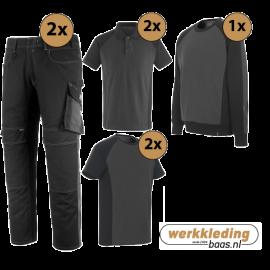 Kledingpakket Mascot Unique zwart met grijs (uitgebreid pakket)
